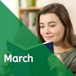 March 2021 Teen E-Newsletter
